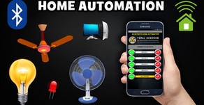 Arduino Home Automation | Bluetooth Application Controlled