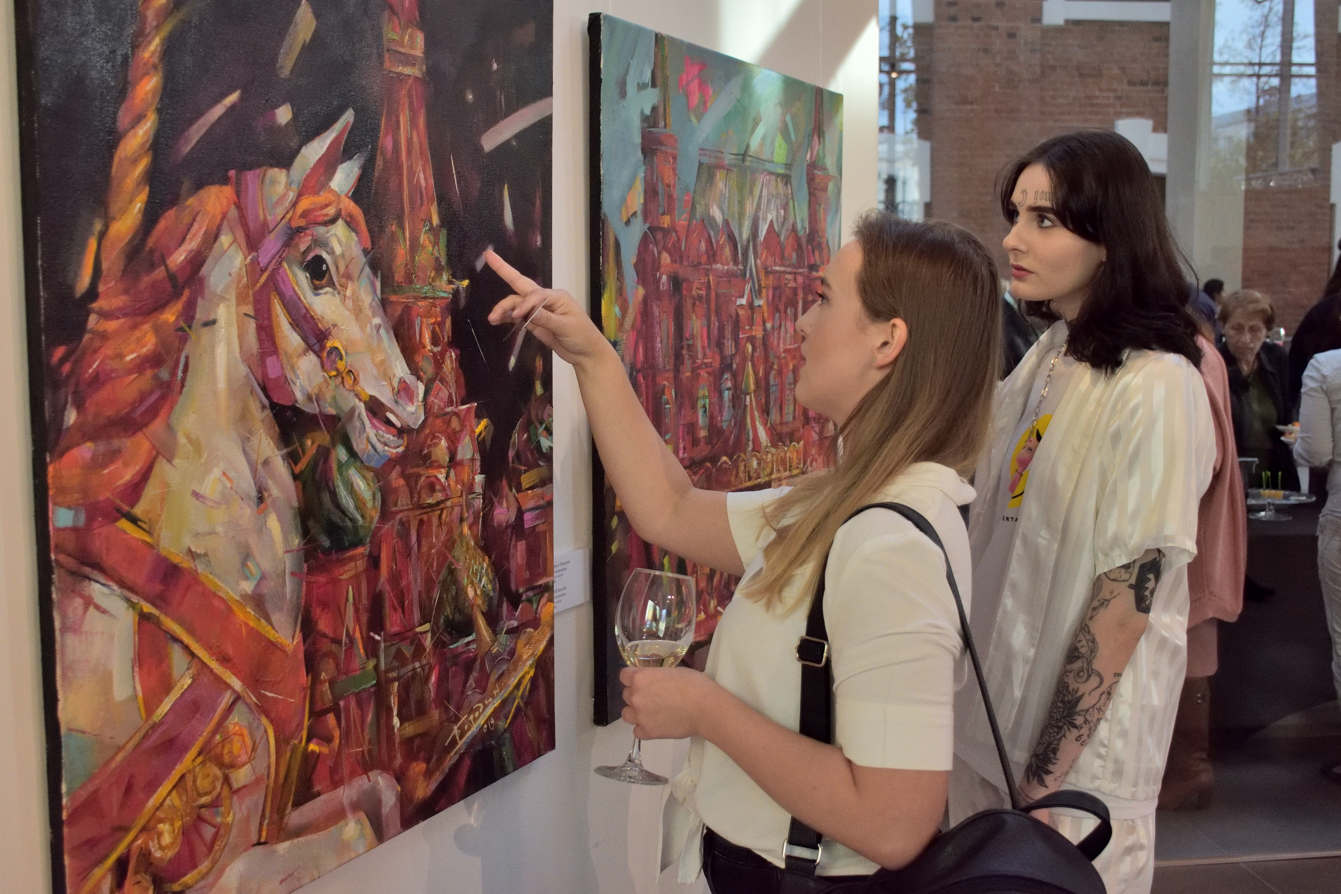 Выставка Кирила Бородина