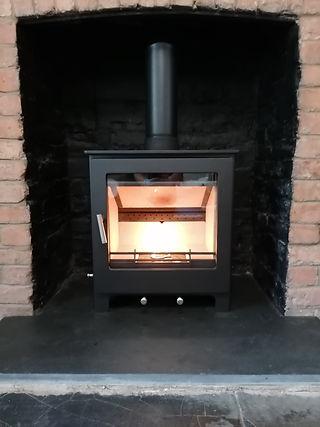Rymell Fire & Flues Log Burner