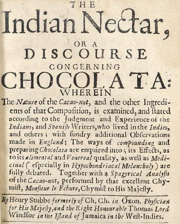 Henry Stubbe: The Chocolate Guru