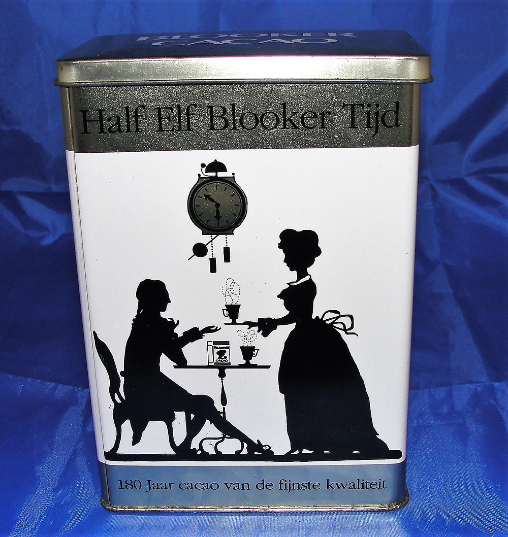 """Half Elf Blookertijd,"" half past ten Blooker time"