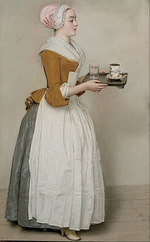 Jean-Eienne Liotard, The Chocolate Girl, 1743-44