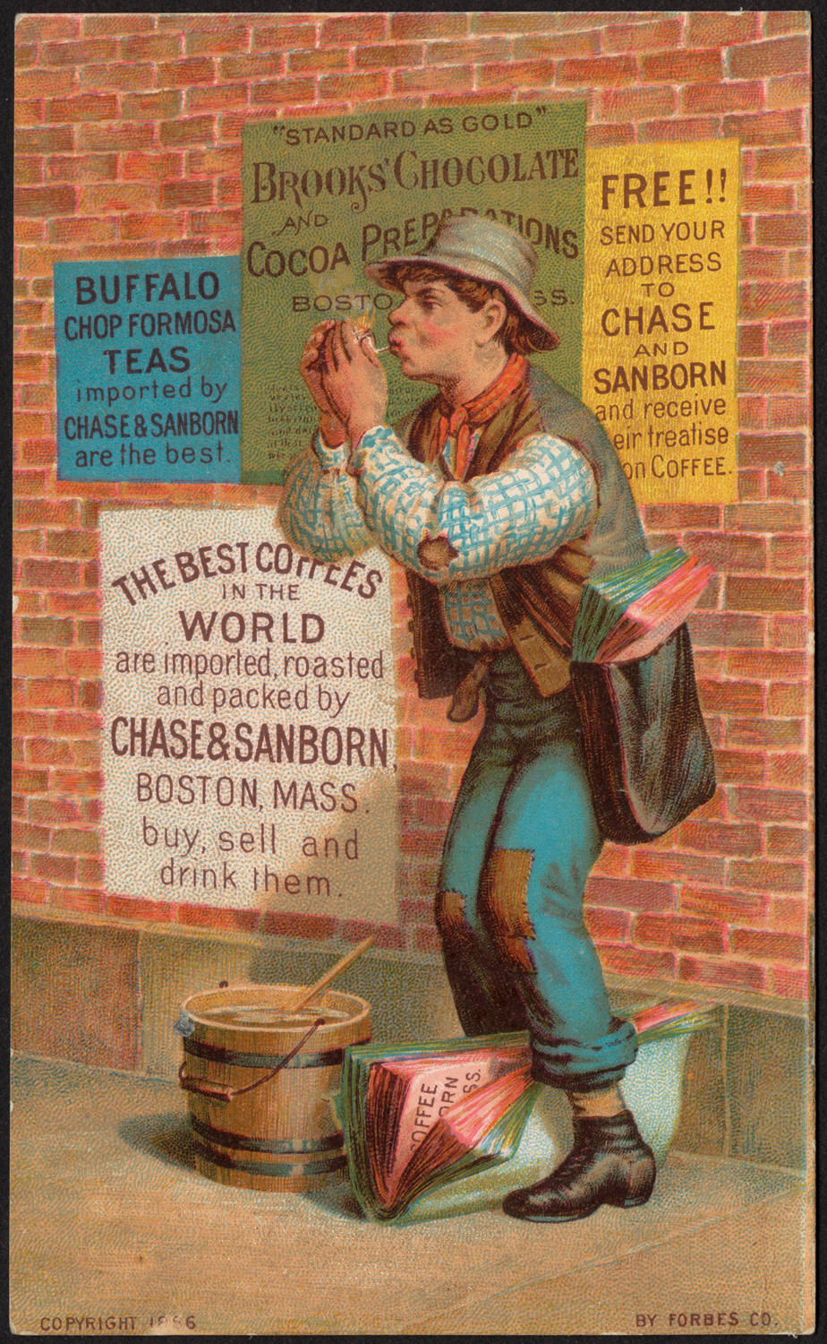 Brooks' Chocolate, 1886, Boston Public Library