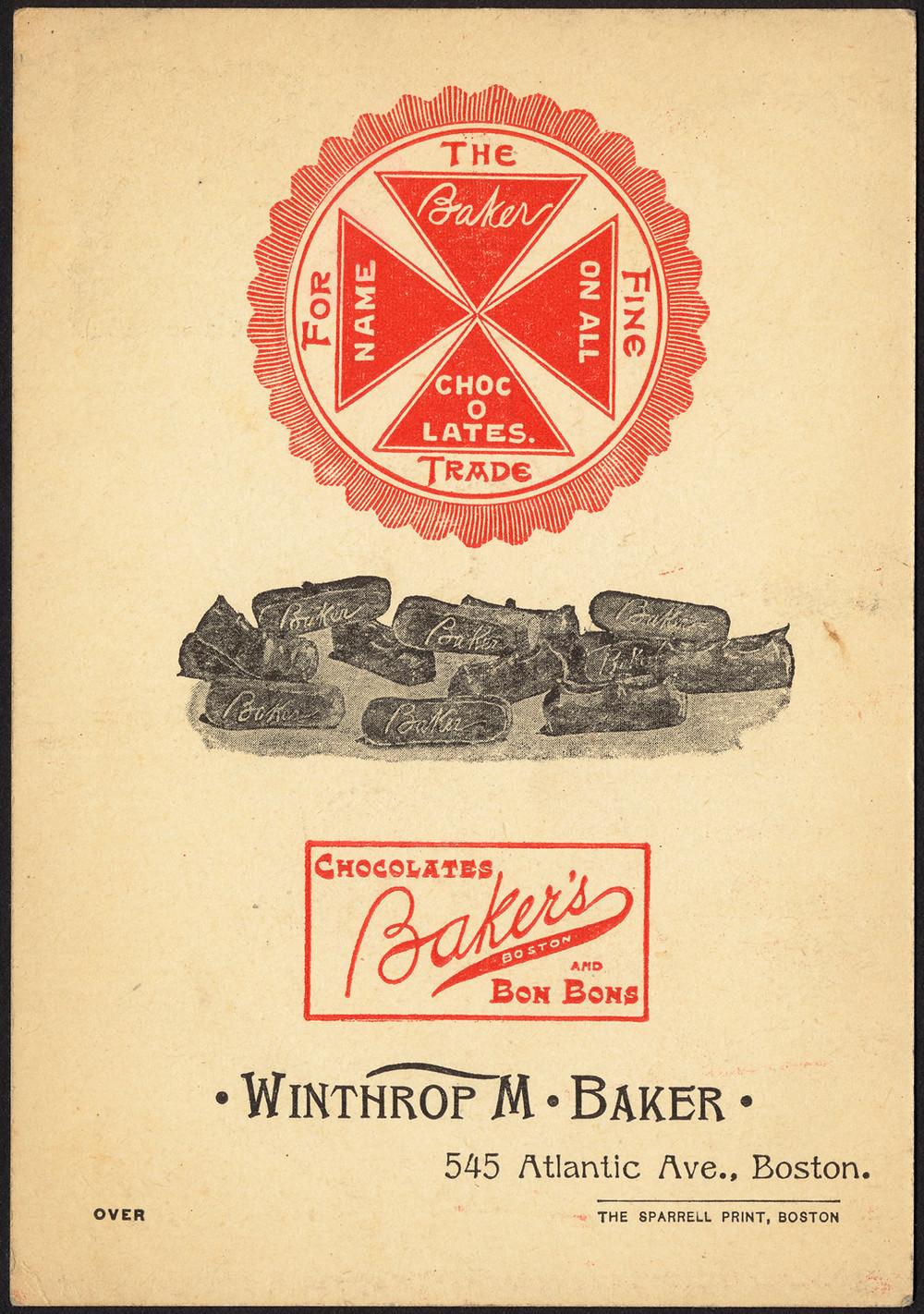 Winthrop Baker, 1870, Boston Public Library