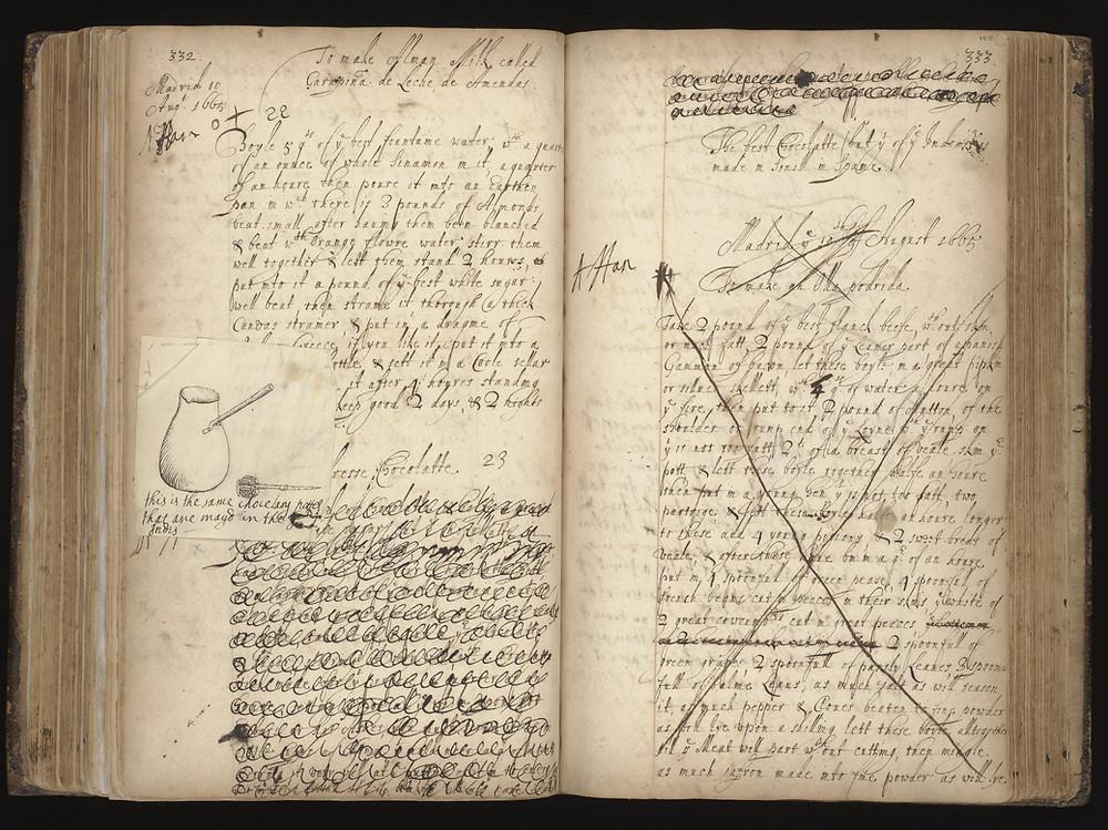 Recipe Book of Lady Ann Fanshawe (1625-80)