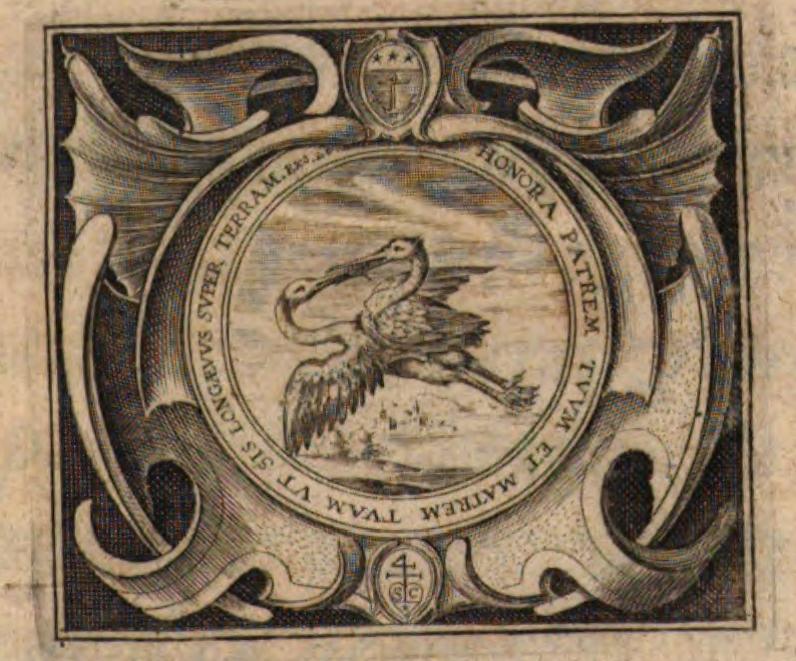 Detail of Title Page 1643