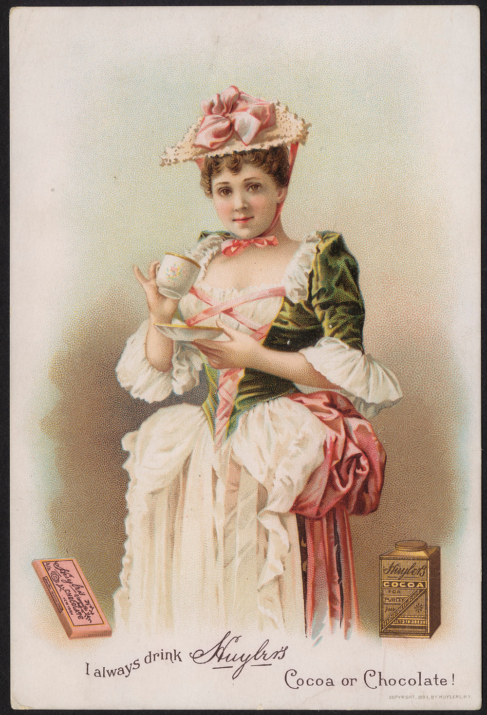 Huyler's Chocolate, 1893, Boston Public Library