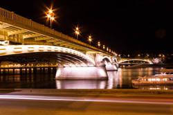 Bridge Budapest night