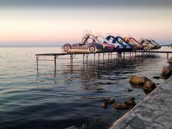 Parking lake