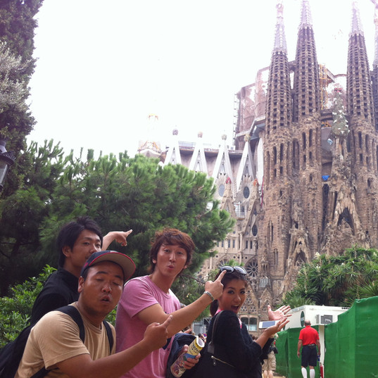 情熱の国スペイン!