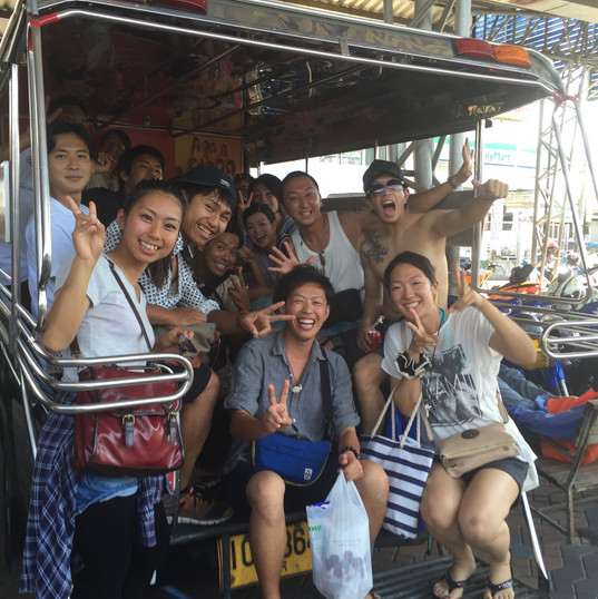 タイのパタヤビーチでバカンス♪