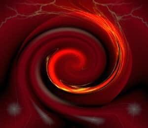 Rouge au delà de la passion.