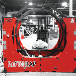 ROTORAP ORBITAL STRETCH WRAPPER