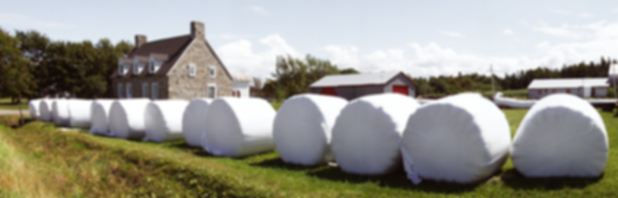 CANAG FARM TECHNOLOGY WRAPPED BALES