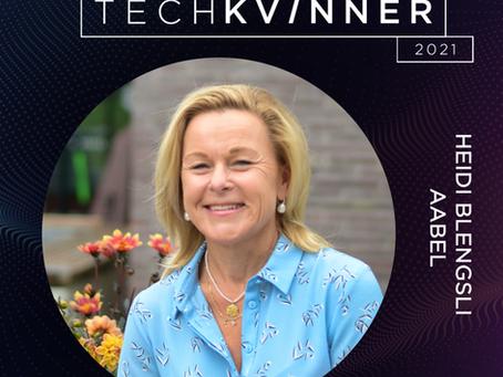 Heidi Blengsli Aabel er kåret til én av landets 50 fremste tech-kvinner
