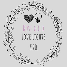 Reasons to choose my rose gold love ligh