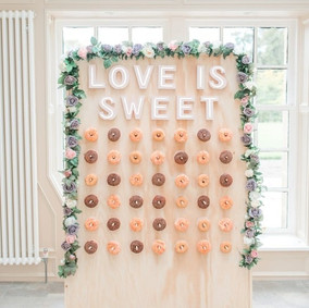 Packages including this donut wall from