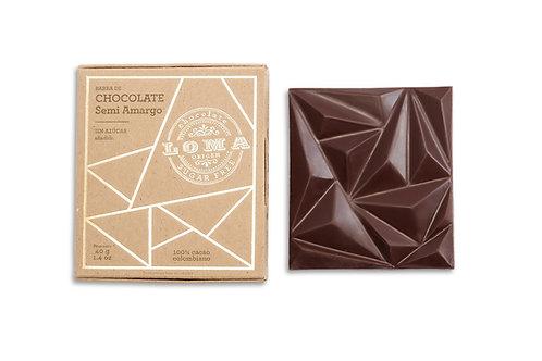 Barra Chocolate Semiamargo 40g