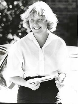 Susan as a Flambeau staff reporter in Tallahassee, Florida circa 1979