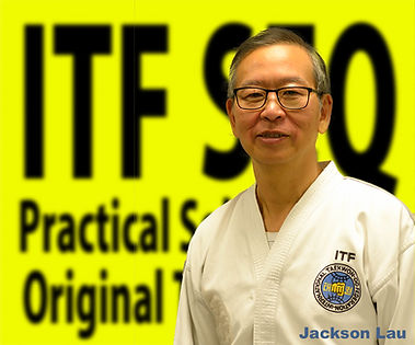 Chermside Taekwon-Do International Taekwon-Do Federation ITF Jackson Lau teaching in Brisbane