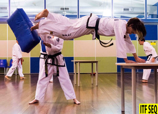 Balance is Important and Taekwon-Do Training Can Help