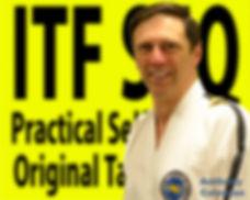 Inst Anthony Colemn Taekwondo Black Belt Chermside