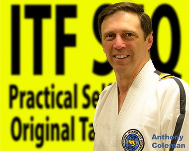 Inst Anthony Colemn Taekwondo Black Belt Chermside