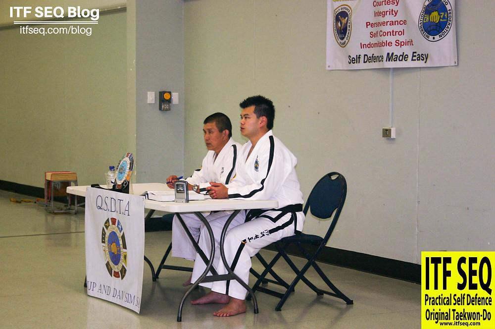 Taekwondo Grading Examiners