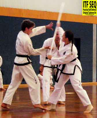 March 2009 - Self Defence Routine