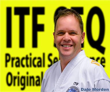 Chermside Taekwon-Do International Taekwon-Do Federation Instructor Dale Morden in Brisbane