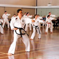 Sabum Jackson leading the class at North Bundaberg