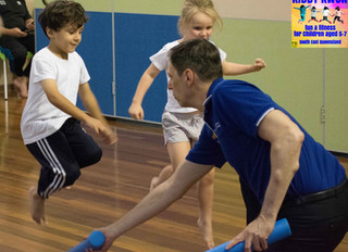 Many Benefits of Exercise for Children through Kiddy Kwon Classes
