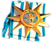 Photo of the ITF Outstanding Instructor Medal