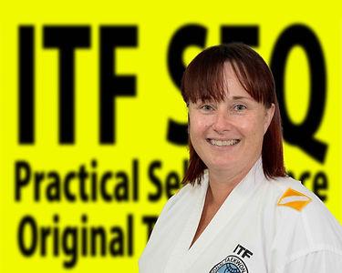 Inst Kerri Magdalinski Taekwondo Black Belt Childers
