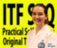 Jen Wright Taekwondo black belt in Chermside