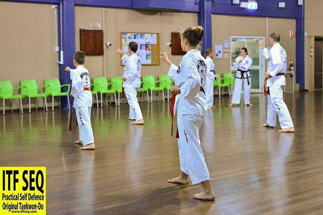Taekwon-Do Students ready to train