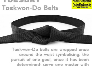 Taekwon-Do Tuesday - September 2016