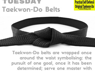 Taekwon-Do Tuesday - September 2016
