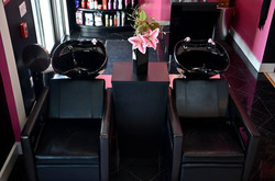 Reclining Shampoo Stations