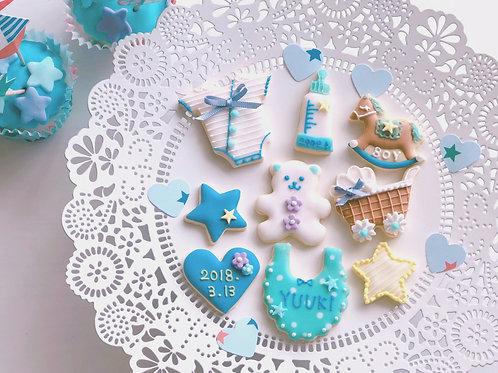 【基本セット】ベビーフェイククッキーセット