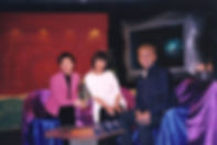 Kathy Ma on Hong Kong's Cable TV Channel with Simon Lui - 1998