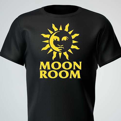 Moon Room Tee Yellow Logo