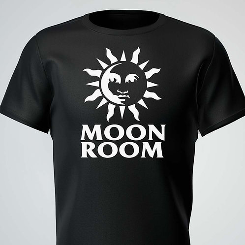 Moon Room Tee White Logo