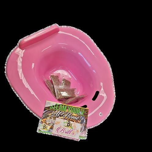 5 V-Steam & Pink Yoni Bowl Kit