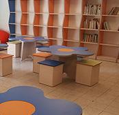 ספריות, ספריה לבתי ספר, ספריה למשרד, כוננית פתוחה, כוננית, כוננית סגורה