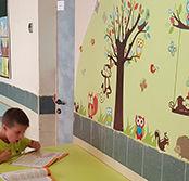ציורי קיר, ציורים לקירות, לצייר על הקיר, ציורי קיר לבית ספר