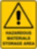 Hazardous Materials Storage Area