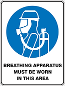 Breathng Apparatus Must Be Worn In This Area