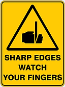 Sharp Edges Watch Your Fingers