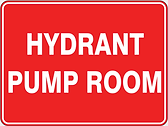 Hydrant Pump Room